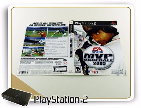 Encarte Mvp Baseball 2005 Original Playstation 2 PS2