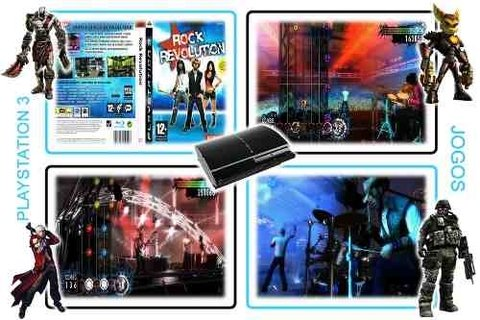 Rock Revolution Original Playstation 3 PS3 - Radugui Store