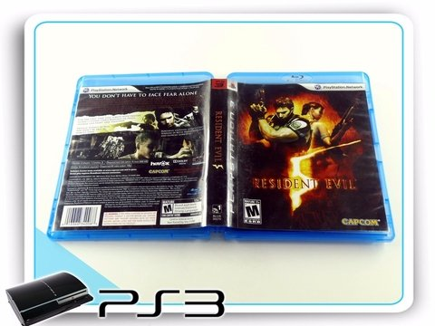 Resident Evil 5 Playstation 3 Ps3 Original - comprar online