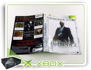 Encarte E Manual Hitman 2 Xbox Clássico Original