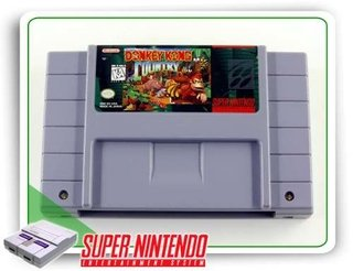 Donkey Kong Country Snes Original Super Nintendo