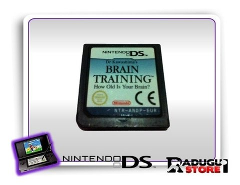 Brain Training Ds Original Nintendo Ds