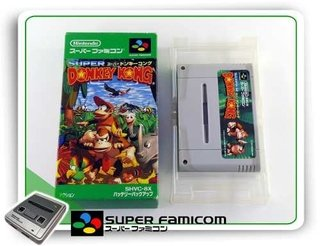 Donkey Kong Country Original Super Famicom Sfc Completo