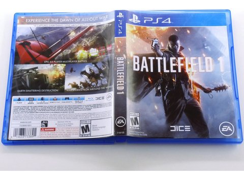 Battlefield 1 Original Playstation 4 Ps4 - Mídia Física na internet