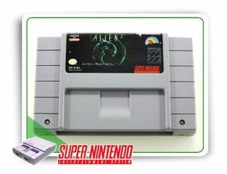 Alien 3 Original Snes Super Nintendo