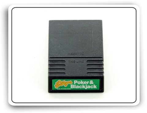 Las Vegas Poker & Blackjack Original Intellivision