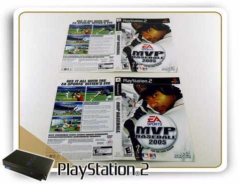 Encarte Mvp Baseball 2005 Original Playstation 2 PS2 - comprar online