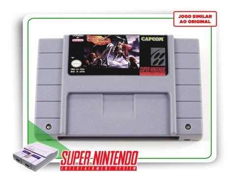 Knights Of The Round Super Nintendo Snes - Novo