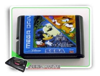 Castle Of Illusion - Quack Shot Sega Mega Drive - Genérico