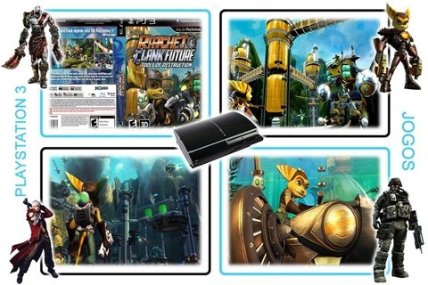 Ratchet E Clank Future Tools Of Destruction Playstation3 Ps3 - loja online