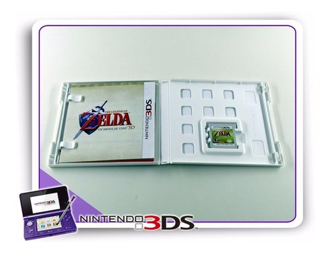 The Legend Of Zelda Ocarina Of Time 3d Original Nintendo 3ds na internet
