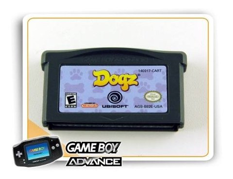 Dogz Original Game Boy Advance Gba
