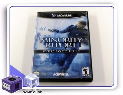 Minority Report Original Gamecube