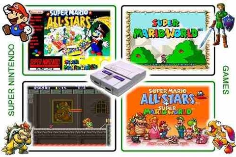 Super Mario All-stars - Super Mario World Original Snes - Radugui Store