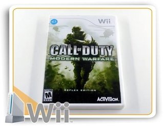 Call Of Duty Modern Warfare Reflex Edition Orig Nintendo Wii