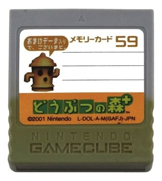 Memory Card Original Nintendo Gamecube 59 Blocos Cinza 006