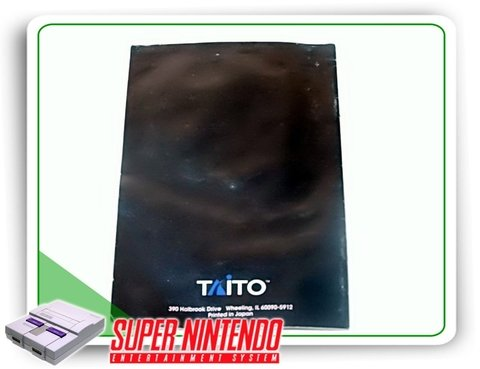Manual On The Ball Original Super Nintendo Snes - comprar online