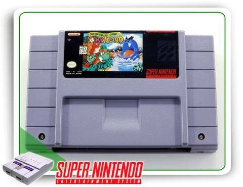 Super Mario World 2 Yoshis Island Origi. Super Nintendo Snes