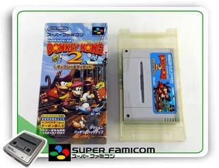 Donkey Kong Country 2 Original Super Famicom Sfc Completo