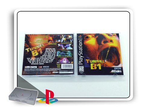 Tunnel B1 Original Playstation 1 Ps1 na internet