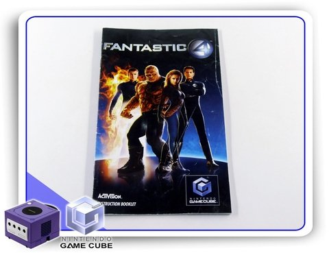 Manual Fantastic Four Original Nintendo Gamecube