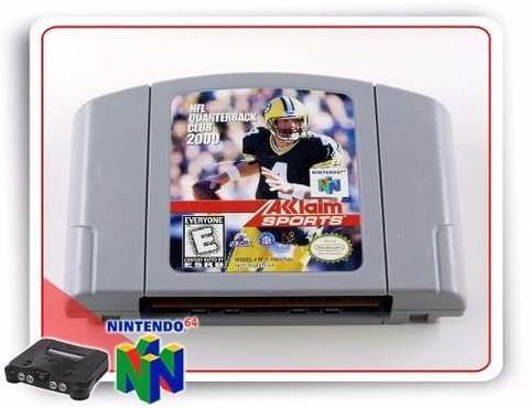 Nfl Quarterback Club 2000 Original Nintendo 64 N64