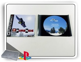 Encarte E Manual Pure Ride Original Playstation 1  Ps1