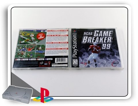 Ncaa Gamebreaker 99 Original Playstation 1 Ps1 - comprar online