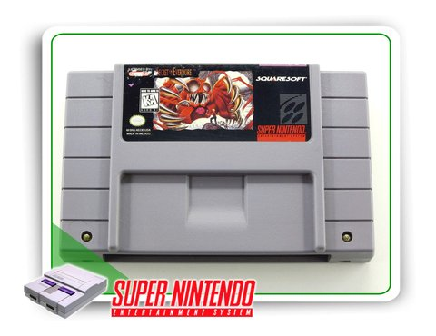 Secret Of Evermore Original Super Nintendo Snes