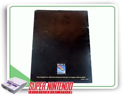 Manual Smartball Original Super Nintendo Snes - comprar online