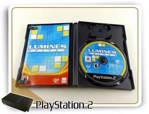Puzzle Fusion Lumines Plus Original Playstation 2 PS2 na internet