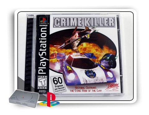 Crime Killer Original Playstation 1 Ps1