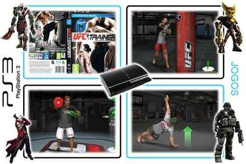 Ufc Personal Trainer Original Playstation 3 PS3 - Radugui Store