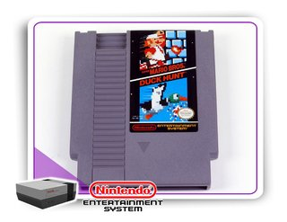 Super Mario Bros - Duck Hunt Original Nintendinho Nes 8-bits