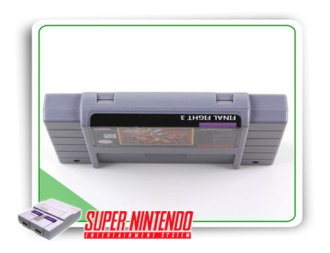 Final Fight 3 Super Nintendo Snes - Novo - comprar online