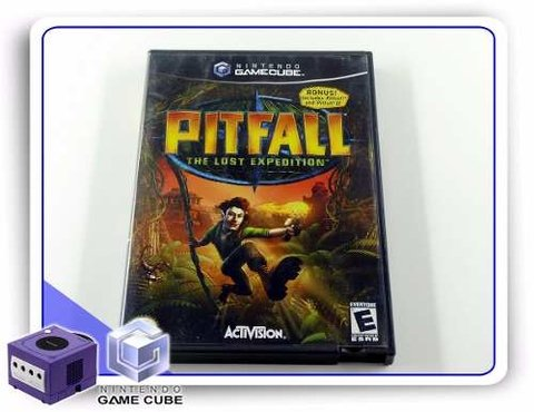 Pitfall The Lost Expedition Original Gamecube