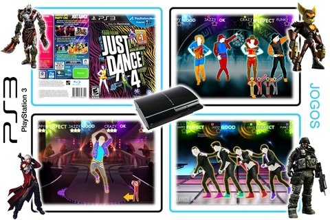 Just Dance 4 Original Playstation 3 PS3 - loja online