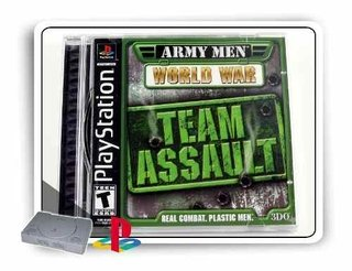 Army Men World War Team Assault Original Playstation 1 Ps1