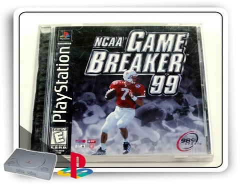 Ncaa Gamebreaker 99 Original Playstation 1 Ps1