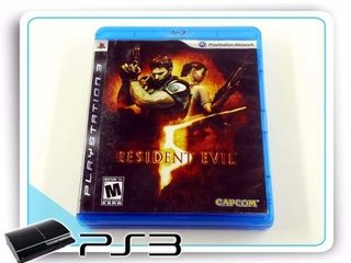 Resident Evil 5 Playstation 3 Ps3 Original