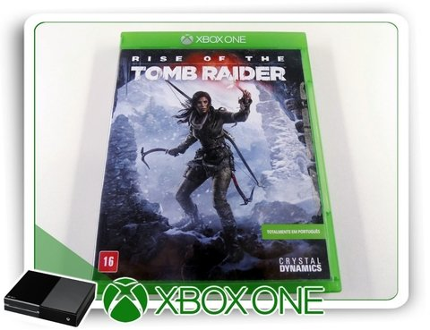 Rise Of The Tomb Raider Original Xbox One Mídia Fisica