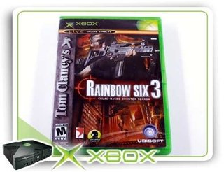 Tom Clancys Rainbow Six 3 Xbox Clássico Original