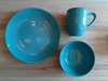 Set X3 Plato, Bowl y Taza