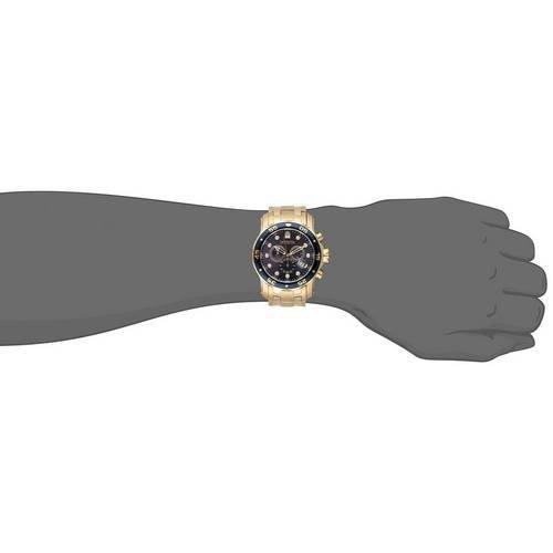 c23d9a07feb Relógio Invicta Pro Drive Gold Azul - Factory Imports
