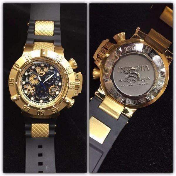 070ae002cde Relógio Invicta Subaqua Noma Gold - Factory Imports
