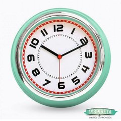 Reloj de pared retro - Pispireta