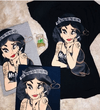 CAMISETA JASMINE TATOO GIRL CINDERELLA FOOT