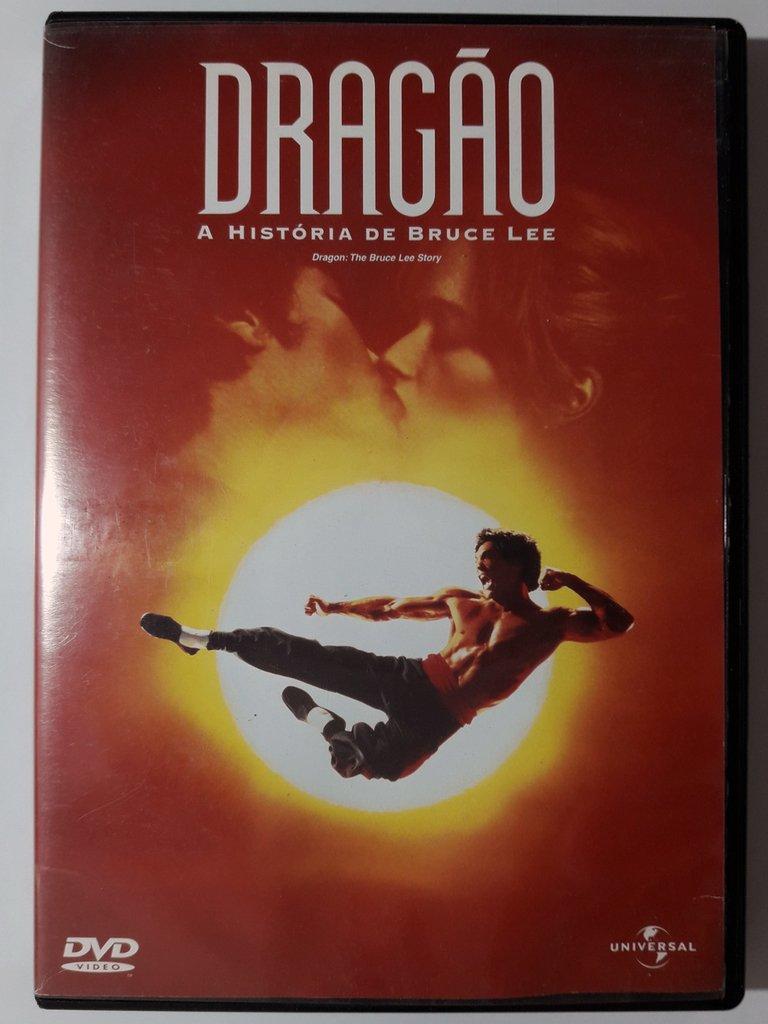 Dvd Dragão A História De Bruce Lee Original Rob Cohen