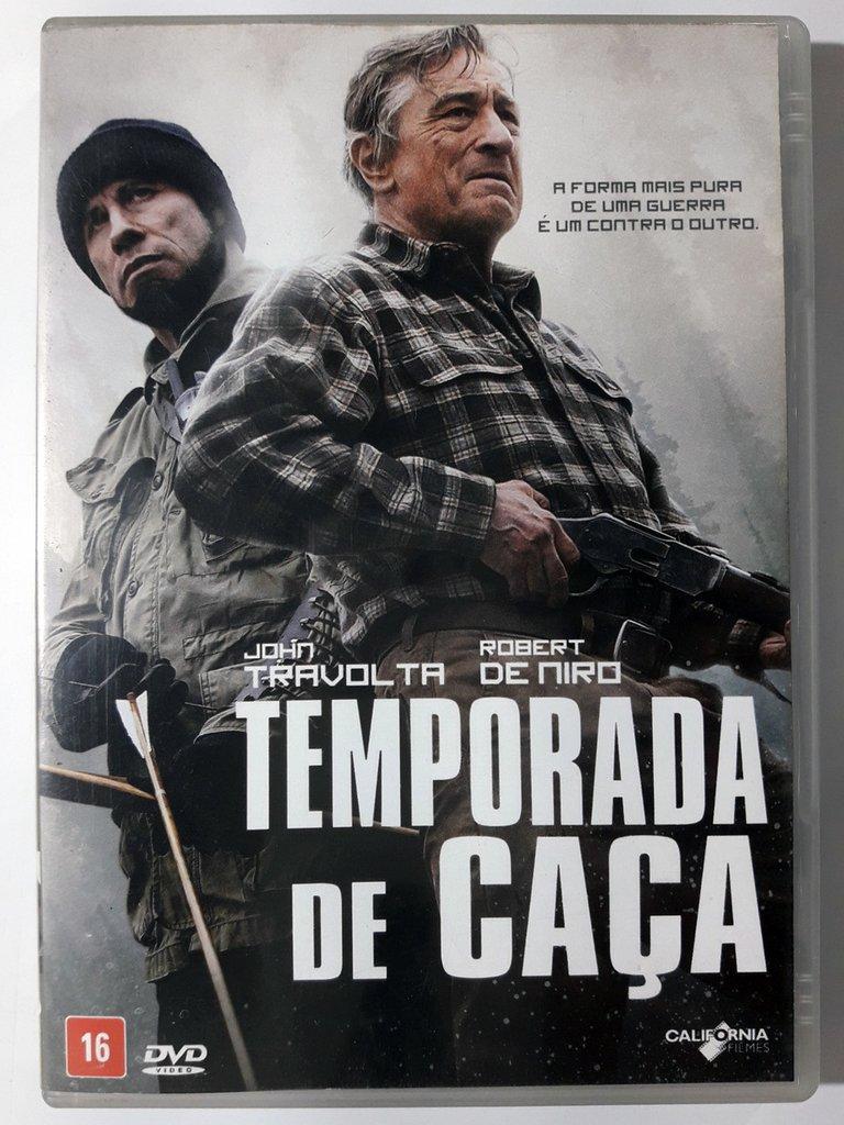 DVD Temporada De Caça John Travolta Robert De Niro Original
