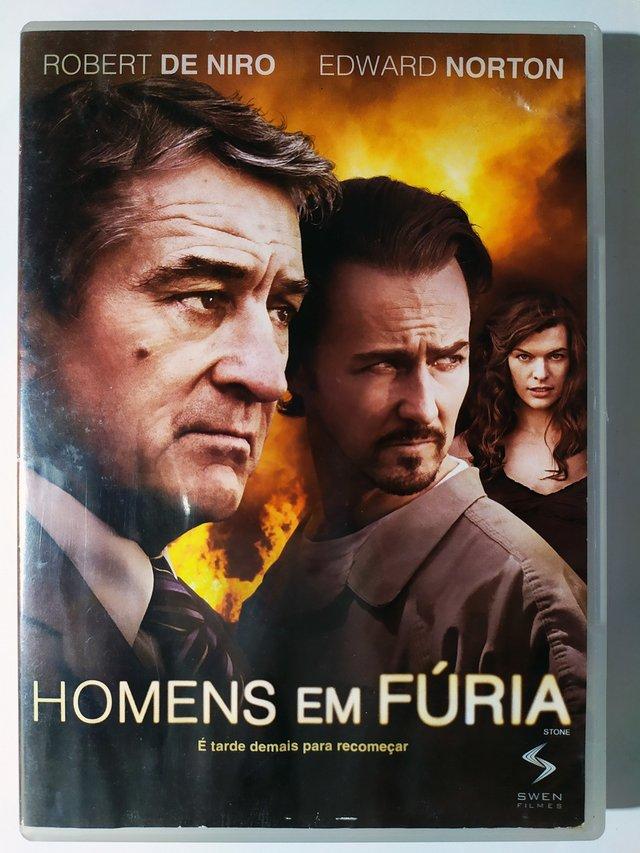 DVD Homens Em Fúria Robert De Niro Edward Norton Stone Original